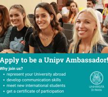 Apply to be a Unipv Ambassador!